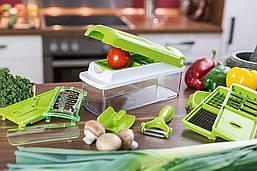 🔥 Ручной измельчитель продуктов Nicer Dicer Plus для нарезки овощей и фруктов