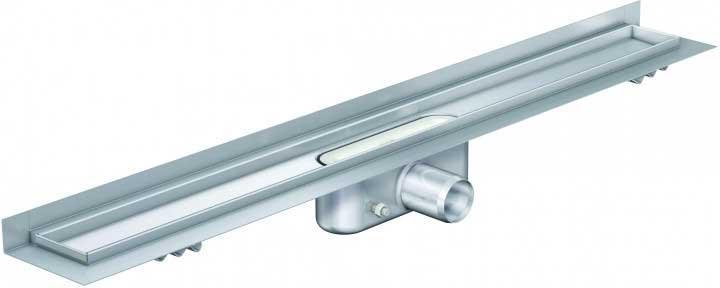 Душевые трапы Aco Трап с вертикальным фланцем, стандартный сифон Aco ShowerDrain C-line 585 мм 408756