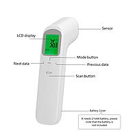 Термометр инфракрасный (пирометр медицинский)