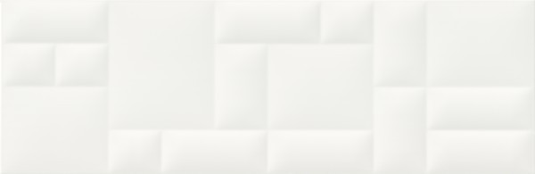 Плитка Opoczno / Pillow Game White Structure  29x89
