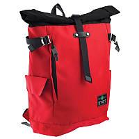 Рюкзак городской Smart T-69 Roll-top отд. для ноутбука Red (557514)