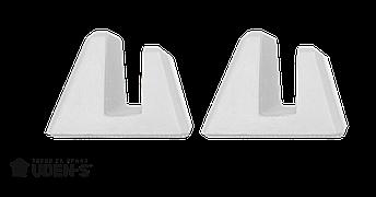 Ножки-пирамиды для керамогранитного обогревателя, фото 2
