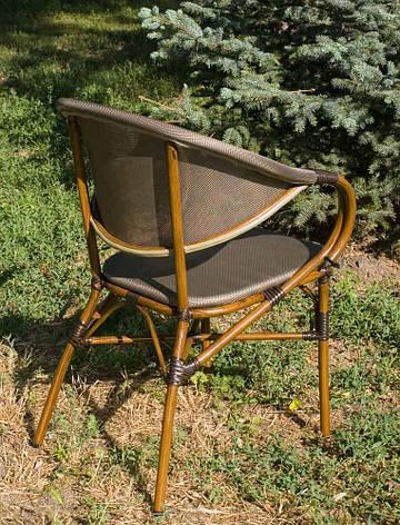 Кресло для открытых площадок из алюминия с обивкой из текстиля ALC - 3200, фото 2