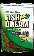 Підкормка Fish Dream Універсал, Фідер 2кг.