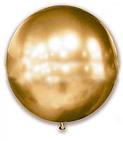 Латексный шар 24' хром SHOW золото (60 см)