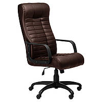 Комп'ютерне крісло АТЛАНТІС коричневе