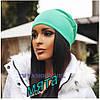 Женская шапка трикотажная, фото 5