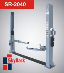 Автомобильный двух стоечный электрогидравлический подъемник SkyRack