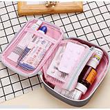 Аптечка-органайзер для лекарств, портативная мини аптечка, фото 9