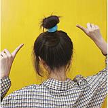 Резинка для волос махровая, яркая, 1 шт, фото 6