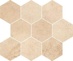 Плитка Opoczno / Sahara Desert Mosaic Hexagon  28x33,7