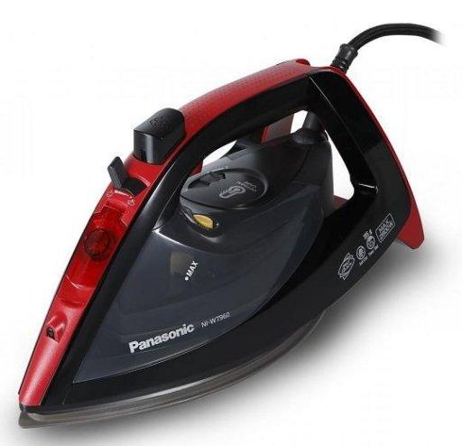 Утюг Panasonic NI-WT960RTW 2600 Вт Черный/Красный