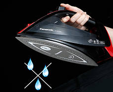 Утюг Panasonic NI-WT960RTW 2600 Вт Черный/Красный, фото 3