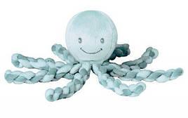 Мягкая игрушка Nattou Осьминог Лапид Салатовый 23 см (878746)
