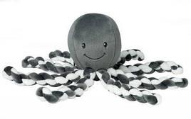 Мягкая игрушка Nattou Осьминог Лапид Серый 23 см (878739)