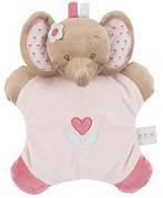 Мягкая игрушка-подушка Nattou Слоник Роге 24 см (655088)