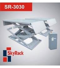 Автомобильный ножничный электрогидравлический подъемник SkyRack