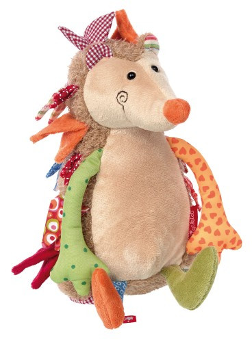 М'яка іграшка Sigikid Patchwork Sweety Їжачок 24 см (38302SK)