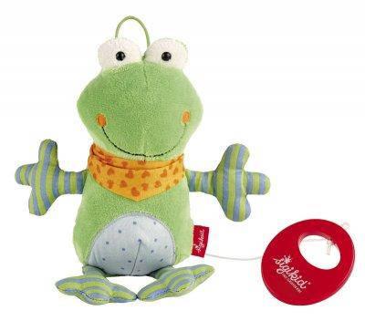 Мягкая музыкальная игрушка Sigikid Лягушка 21 см (40781SK), фото 2