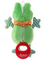 Мягкая музыкальная игрушка Sigikid Лягушка 21 см (40781SK), фото 3