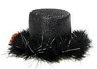 Обруч на праздники Folare  Шляпка LED Черный M16-270024, КОД: 1760523