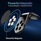 Автомобільний магнітний тримач для телефону Magnetic Car Holder L103, фото 5