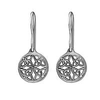 Серьги Twiddle jewelry из серебра орнамент С065, КОД: 1706426