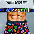 Труси чоловічі 48-50 розмір EMS смайли, фото 5