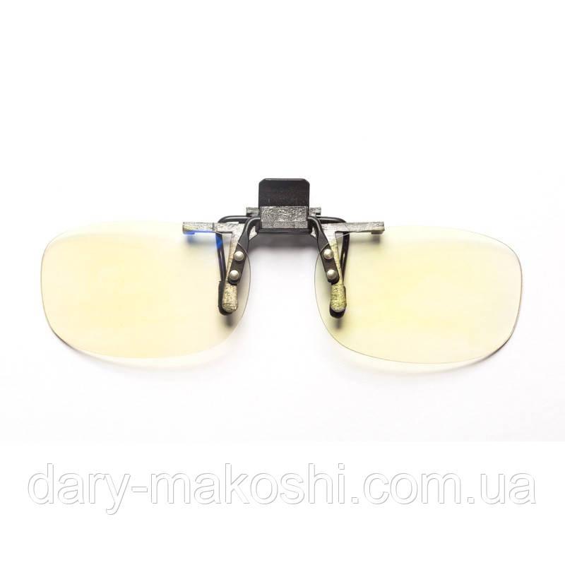 Клипса на очки для компьютера