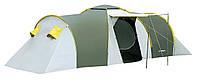 Палатка Presto Nadir 6 зеленая клеенные швы тамбур