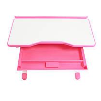 Эргономический комплект Cubby парта и стул-трансформеры Botero Pink, фото 3