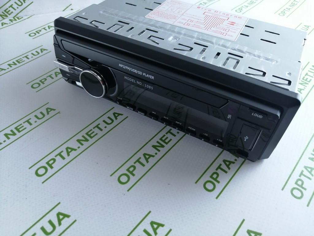 Автомагнитола Pioner  1085 ISO FM/ USB/ SD/AUX