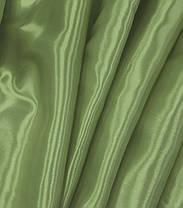 Атлас Стартекс Оливковый(Ширина 150см), Цвет  №45, фото 2