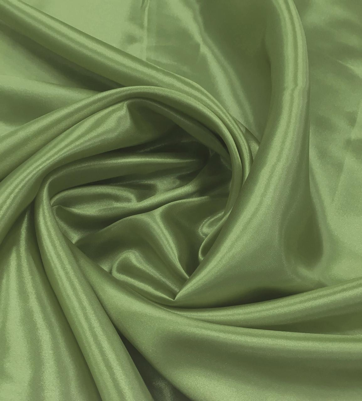 Атлас Стартекс Оливковый(Ширина 150см), Цвет  №45