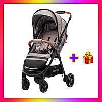 Детская прогулочная коляска CARRELLO Eclipse CRL-12001 бежевый цвет. Дитячий візок