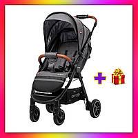 Детская прогулочная коляска CARRELLO Eclipse CRL-12001 серый цвет. Дитячий візок