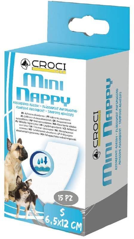 Прокладка для собачьих трусов Croci S (6,5-12 см) 15 шт.