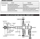 УФ-стерилизатор для пруда SunSun CUV-136, фото 2