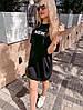 """Стильное платье-футболка оверсайз """"Urban"""", фото 7"""