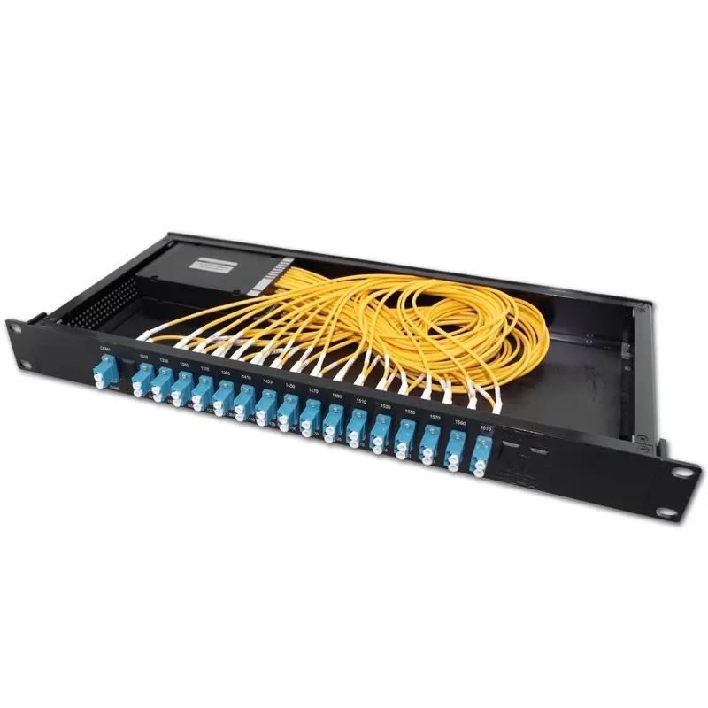 "Мультиплексор CWDM 1x8 TX1470nm-1610nm Mux/Demux LC RM19"" Alistar"