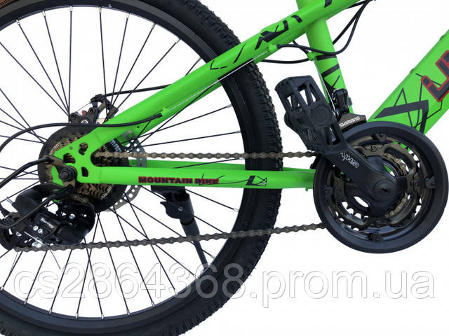 "Велосипед Unicorn Nimble 15"" /24"" Green"