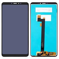 Модуль (сенсор+дисплей) для Xiaomi MI Max 3 чорний, фото 2