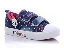 Кеды  для девочки Минни Маус 28 Синий 487497, КОД: 1724453