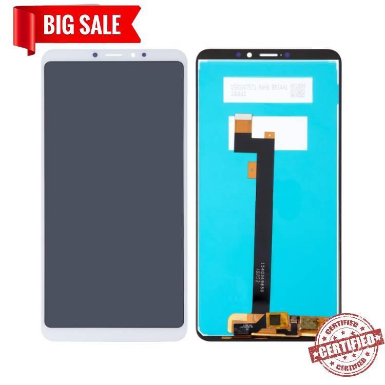 Модуль (сенсор + дисплей) для Xiaomi MI Max 3 белый