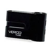 Флеш-накопитель Verico 64Gb для передачи важных данных Tube Black 3322-8913, КОД: 1385318