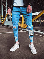 Модные мужские джинсы