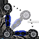 Вездеход Дрифт Трюковая Машинка Перевёртыш На Радиоуправлении, фото 4