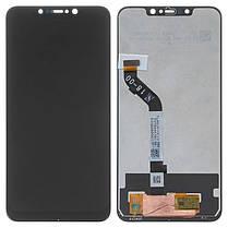 Модуль (дисплей + сенсор) для Xiaomi Pocophone F1 чорний, фото 2