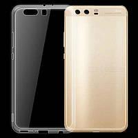 Чехол силиконовый для Huawei P10 Plus ультратонкий прозрачный (хуавей п10 плюс)