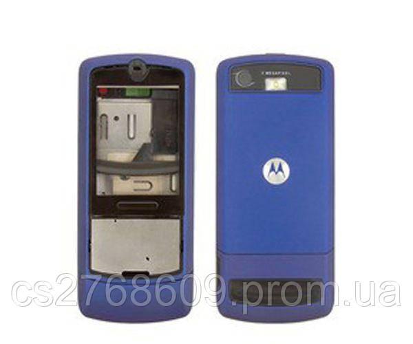 """Корпус """"А-клас"""" Motorola L6 синій"""